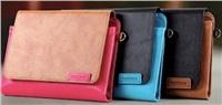 REMAX ochranné pouzdro na iPad Air, iPad mini, retina 2 kožené , elegantní, slouží i jako brašna, hnědá barva