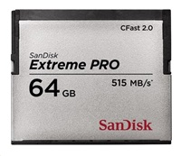 SanDisk CFAST 2.0 64GB Extreme Pro (515 MB/s)