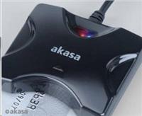 AKASA externí čtečka Smart karet - černá