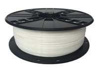 GEMBIRD Tisková struna (filament) PETG, 1,75mm, 1kg, bílá