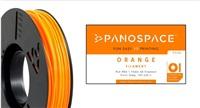FILAMENT Panospace type: PLA -- 1,75mm, 326 gram per roll - Oranžová