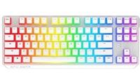 SPC Gear klávesnice GK630K Onyx White Tournament / herní / mechanická / Kailh Brown / RGB / US layout / bílá
