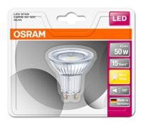 OSRAM LED STAR PAR16 120° 4,3W 827 GU10 350lm 2700K (CRI 80) 15000h A+ (Blistr 1ks)