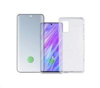 4smarts 360° Premium Protection set (tvrzené sklo UltraSonic a gelový zadní kryt) pro Samsung Galaxy S20