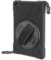 4smarts odolný zadní kryt s páskem pro Samsung Galaxy Tab A 10.1 (T510), černá