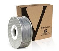 VERBATIM 3D Printer Filament ABS 1.75mm, 404m,1kg silver/metal grey (OLD PN 55016)