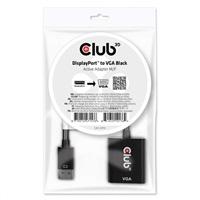 Club3D adaptér aktivní DisplayPort na VGA