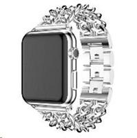 eses kovový řetízkový řemínek 42/44mm stříbrný pro Apple Watch