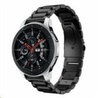 eses kovový řemínek černý pro samsung galaxy watch 46mm/samsung gear s3/huawei watch 2