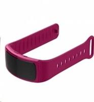 eses silikonový řemínek fialový ve velikosti s pro samsung gear fit 2/gear fit 2 pro