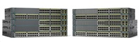 Cisco Catalyst 2960+48PST-L, 48x10/100, 2xGbE, 2xSFP, PoE