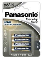 PANASONIC Alkalické baterie Everyday Power  LR03EPS/4BP AAA 1,5V (Blistr 4ks)