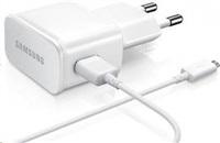 Samsung síťová nabíječka ETA0U83EWE + kabel EP-DU4AWE micro USB, bílá (bulk)