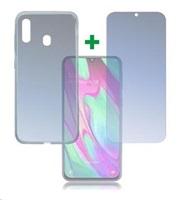 4smarts 360° Protection set (tvrzené sklo a gelový zadní kryt) pro Samsung Galaxy A40