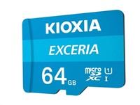 KIOXIA Exceria microSD card 64GB M203, UHS-I U1 Class 10