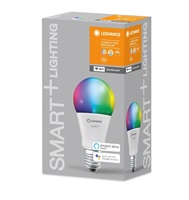 LEDVANCE SMART+ WiFi CL A  DIM 75 9,5W/ 2700...6500 K RGBW 1055lm E27 DIM (krabička 1ks) 15000h