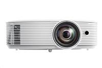 Optoma projektor W309ST  (DLP, FULL 3D, WXGA, 3 800 ANSI, 25 000:1, 16:10, HDMI, VGA, RS232, 10W speaker)