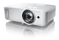 Optoma projektor H117ST  (DLP, FULL 3D, WXGA, 3 800 ANSI, HDMI, VGA, RS232, 10W speaker)