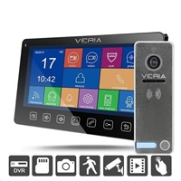 SET Videotelefon VERIA 7076C černý + VERIA 230