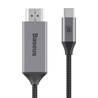 Baseus video kabel USB-C samec na HDMI samec 1,8m vesmírně, šedá