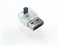 SMARTKEEPER Basic LAN Cable Lock 5 - 1x klíč + 5x záslepka, černá