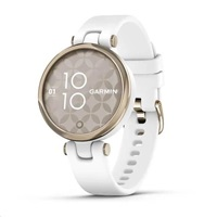 Garmin hodinky Lily Sport Cream Gold/White Silicone Band