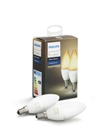 PHILIPS Hue White Ambiance, 2x žárovka svíčková 6,5W E14 B39 DIM