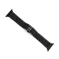 COTEetCI Excellence ocelový pásek pro Apple Watch 42 / 44mm černá