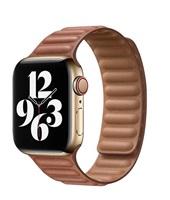 COTEetCI Double Suction kožený pásek pro Apple Watch 42 / 44mm hnědá