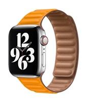 COTEetCI Double Suction kožený pásek pro Apple Watch 38 / 40mm žlutá