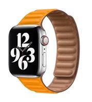 COTEetCI Double Suction kožený pásek pro Apple Watch 42 / 44mm žlutá