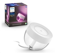 PHILIPS COL Iris Stolní svítidlo Hue White and color ambiance, white/clear