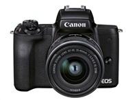 Canon EOS M50 Mark II + M15-45 STM - černé