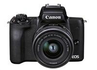 Canon EOS M50 Mark II + M15-45 STM + SB130 + karta 16 GB (Value Up Kit)