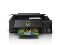 EPSON - poškozený obal - tiskárna ink EcoTank L7180, 3v1, A3, 28ppm, USB, Ethernet, Wi-Fi (Direct),  LCD, Foto tisk.