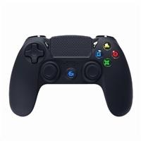GEMBIRD gamepad JPD-PS4BT-01, vibrační, bezdrátový, PC/PS4, micro-USB