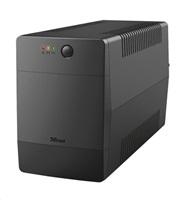 TRUST UPS Paxxon 1000VA UPS with 4 IEC power outlets