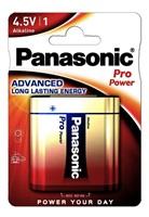 PANASONIC Alkalické baterie Pro Power 3LR12PPG/1BP  Plochá 4,5V (1ks)