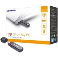 BAZAR AVERMEDIA AverTV Hybrid Volar HD USB, externí TV tuner (kompletní balení)
