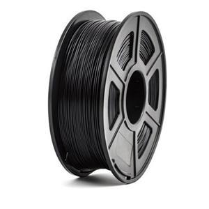 PEACH Tisková struna (filament), PLA, 1,75mm, 1kg, černá