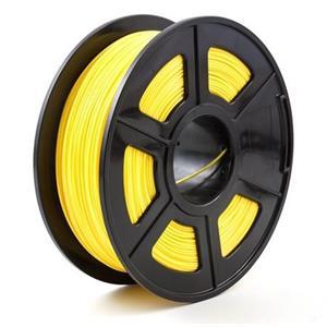 PEACH Tisková struna (filament), PLA, 1,75mm, 1kg, žlutá