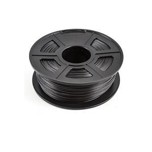 PEACH Tisková struna (filament), ABS, 1,75mm, 1kg, černá