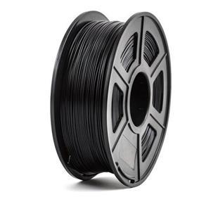 PEACH Tisková struna (filament), PETG, 1,75mm, 1kg,  černá