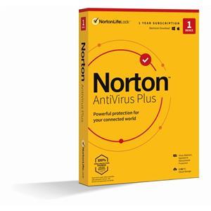 NORTON ANTIVIRUS PLUS 2GB CZ 1 USER 1 DEVICE 12MO