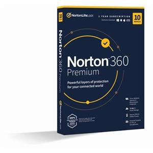 NORTON 360 PREMIUM 75GB CZ 1 uživatel pro 10 zařízení na 12 měsíců_Box