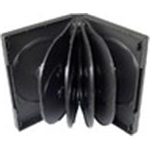COVER IT Krabička na 10 DVD 33mm černý - karton 50ks