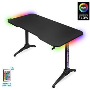 CONNECT IT NEO+ herní stůl s RGB podsvícením, ČERNÝ