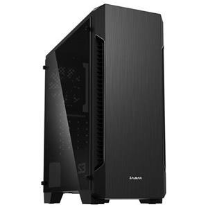 Zalman case miditower S3 TG, ATX, 3x 120mm ventilátor, 1x USB 3.0, 2x USB 2.0, průhledná bočnice, černá, bez zdroje