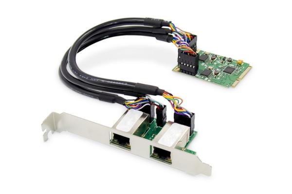 Digitus Dual Gigabit Ethernet Mini PCI Express Network Card