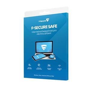 F-Secure SAFE pro 3 zařízení na 1 rok - elektronicky